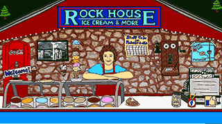 Rock House Ice Cream in Colorado